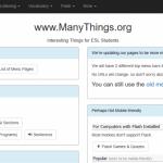 sites like manythings.org