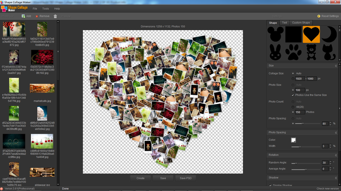 how to use pic collage on pc