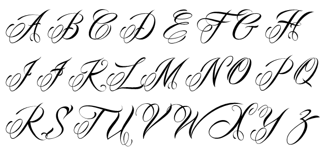 Tattoo Fonts: Best Free Tattoo Fonts