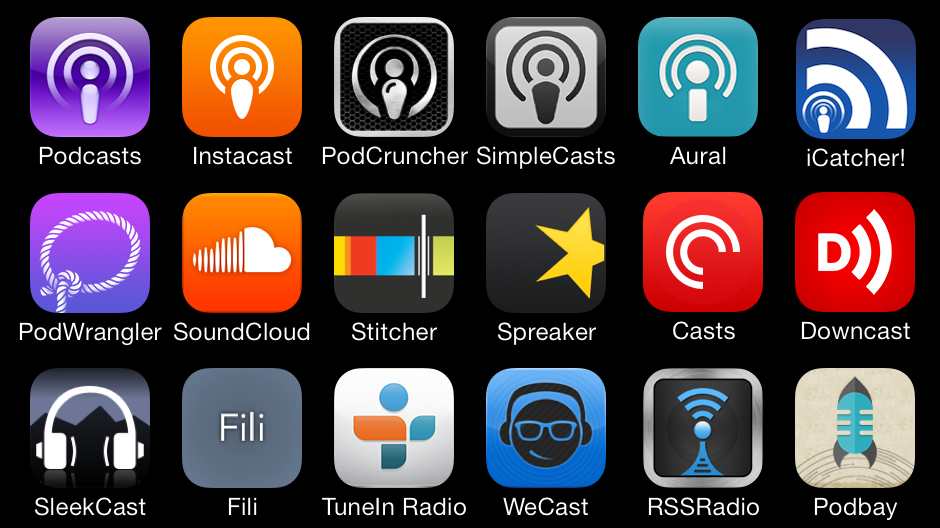 Podcast ni podcast apps