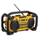 DEWALT DC012 7.2-Volt-18-Volt Heavy-Duty Worksite Radio Charger