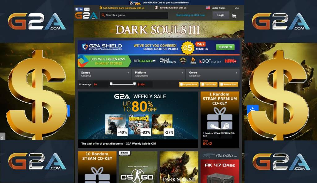 G2A alternatives