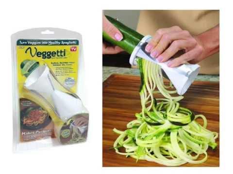 Veggetti Ontel Spiral Vegetable Slicer