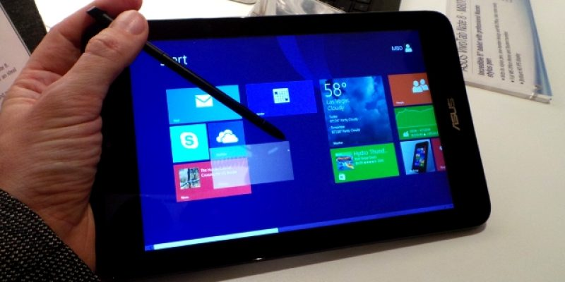 ASUS announced 64bit VivoTab 8 with Windows 8.1