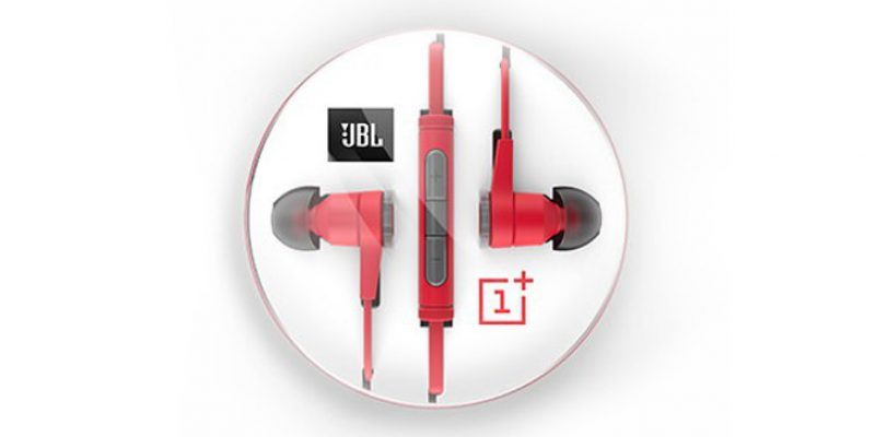 OnePlus and JBL announced partnership for its new earphones