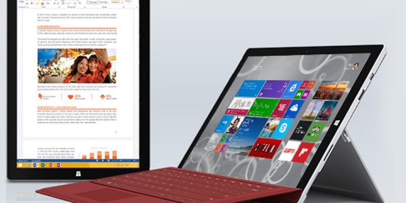 Microsoft Surface 3 announced – $499 for a laptop substitute