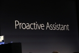 Apple announces its Google Now competitor Proactive Assistant