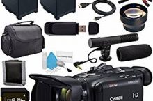Best camcorders with mic input