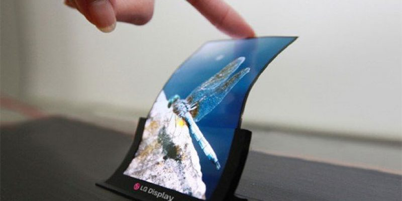 Cheap Flexible OLED Displays Coming Soon