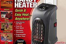 Handy Heater – Personal Space Heater