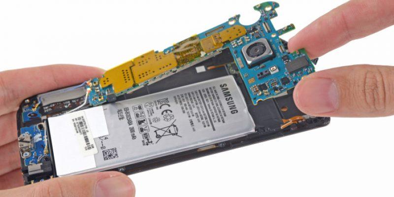 iFixit teardown shows Galaxy S6 Edge difficult to repair