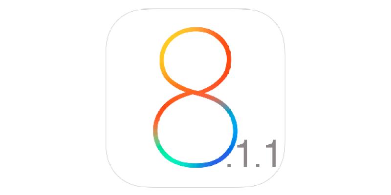 Apple released iOS 8.1.1
