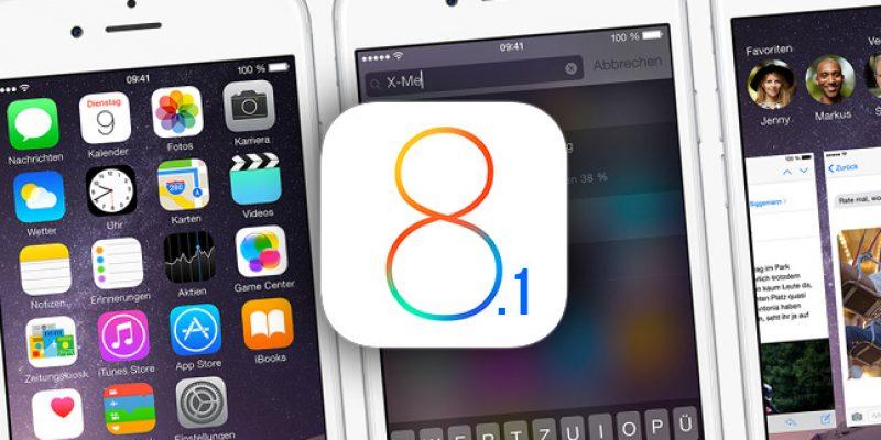 Apple released iOS 8.1
