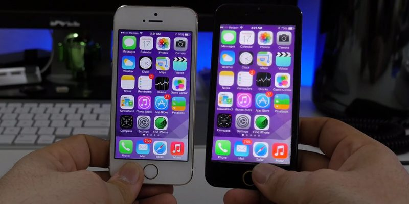 Apple fan drops his iPhone 6 during television interview