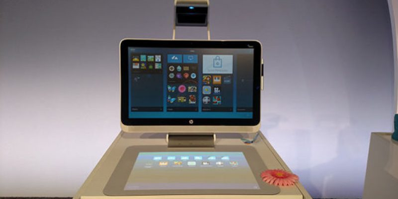 HP introduces Sprout – a product that requires no keyboard or mouse