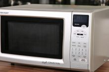 Sharp Convection Grill Microwave R-820JS Reviewp