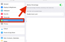 How To Enable Battery Percentage on your iPhone or iPad